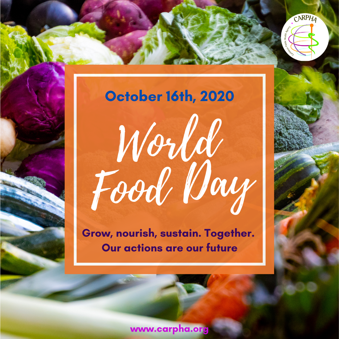 WORLD FOOD DAY 2020: Grow, nourish, sustain. Together. Our actions are our future