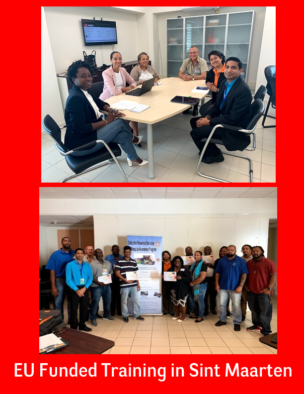 Sint Maarten Receives Technical Support from CARPHA for Prevention, and Control of Vector-Borne Diseases
