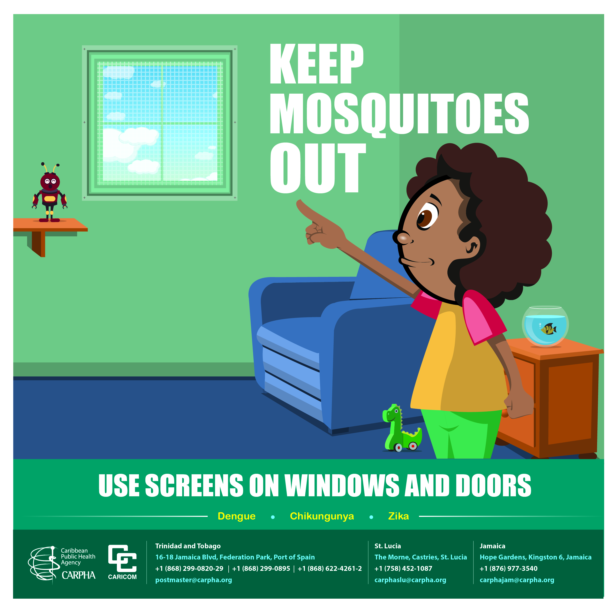 Keep Mosquitoes Out